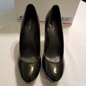 Calvin Klein Black Heels Size 9.5M